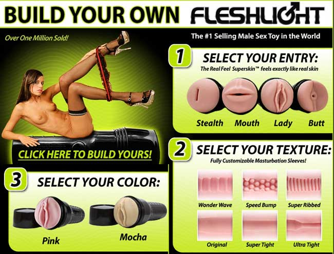 Fleshlight feels as good as any pussy !